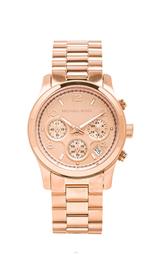 Michael Kors Runway Watch in Rosegold