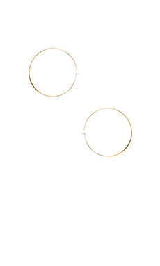 Michael Kors Hoop Earrings in Gold