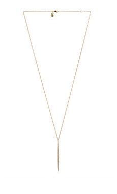 Michael Kors Matchstick Charm Necklace in Gold
