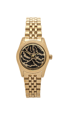 Michael Kors Petite Lexington in Gold & Black