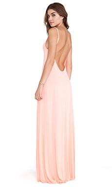 Michael Lauren Gage Deep Back Maxi Dress in Dreamsical