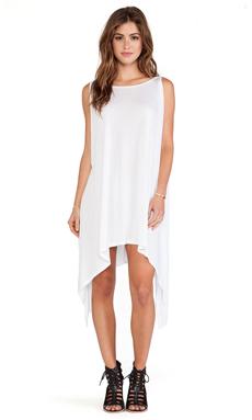 Michael Lauren Roland Tunic Dress in White