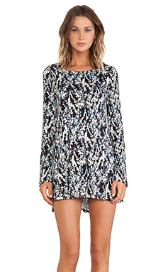 Michael Lauren Harvest Long Sleeve Dress in Wild Flower