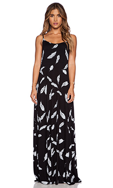 Michael Lauren Miles Maxi Dress in Feather