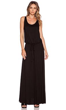 Michael Lauren Oz Maxi Dress in Black