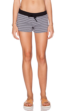 Michael Lauren Rocky Short in Grey & Black
