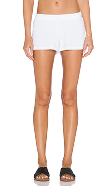 Michael Lauren Eddy Sweatshort in White