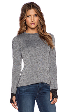 Michael Lauren Bennett Sweater in Grey & Black