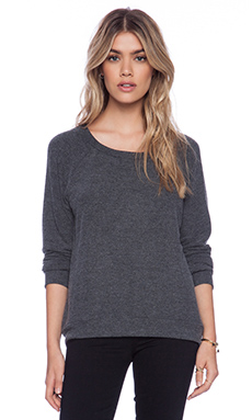 Michael Lauren Kenny Sweatshirt in Black