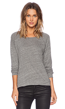 Michael Lauren Kenny Sweatshirt in Heather Grey