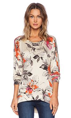 Michael Lauren Clemen Sweatshirt in Vanilla