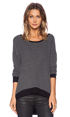 Michael Lauren Clemen Sweatshirt in Black