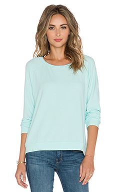 Michael Lauren Kenny Sweatshirt in Mint