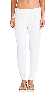Michael Lauren Pablo Sweatpant in White