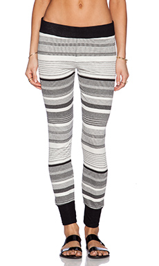 Michael Lauren Peter Pant in Stripe & Black