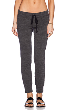 Michael Lauren Chet Track Pant in Charcoal