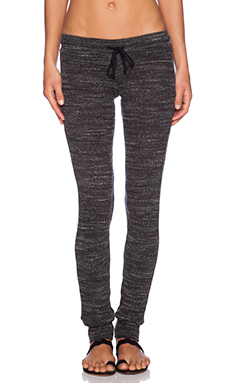 Michael Lauren Chet Track Pant in Heather Charcoal