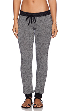 Michael Lauren Chet Sweatpants in Grey & Black