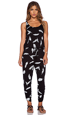 Michael Lauren Roderick Jumpsuit in Feather