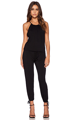 Michael Lauren Finley Jumpsuit in Black