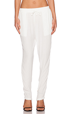 MLM Label Drop Pant in Ivory