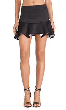 MLM Label Altitude Skirt in Black & White Contrast