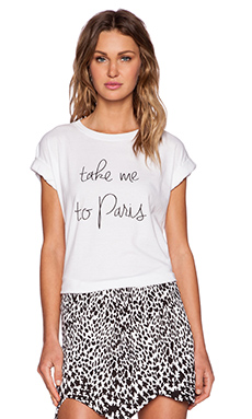 MLM Label Take Me To Paris Tee in White