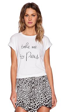 MLM Label Take Me To Paris Tee in White