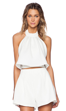 MLM Label Accordian Crop in Ivory