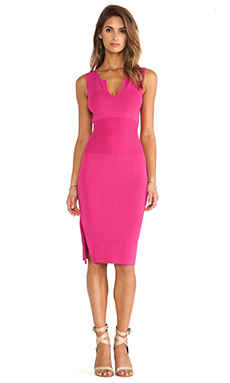 MLV Ashley Dress in Hot Pink