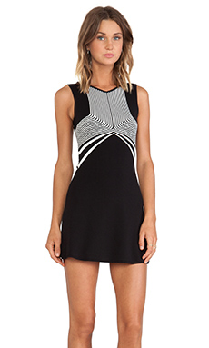 MLV Odette Nostalgia Dress in Black & White