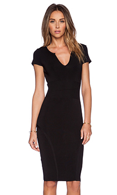 MLV Kaya Contour Dress in Black