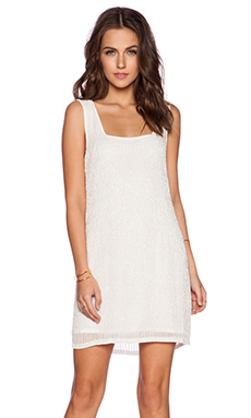 MLV Ella Sequin Dress in Ivory