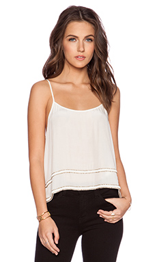 MLV Charlize Top in Ivory