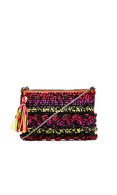 M Missoni Melange Raffia Bag in Multi