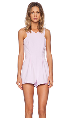 Minty Meets Munt Lose Yourself Playsuit in Lilac
