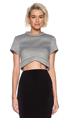 Minty Meets Munt Instant Crush Top in Grey