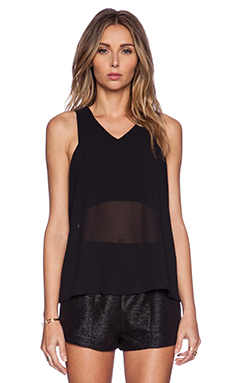 Minty Meets Munt Hidden Truth Top in Black