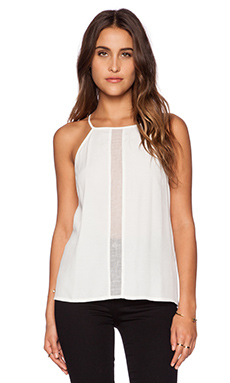 Minty Meets Munt Electric Top in White