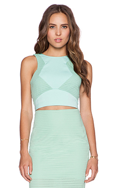 Minty Meets Munt Legacy Top in Honeydew