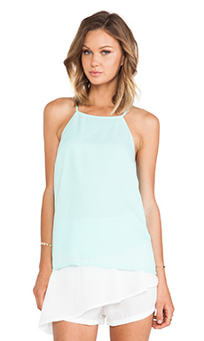 Minty Meets Munt Casia Camisole in Blue