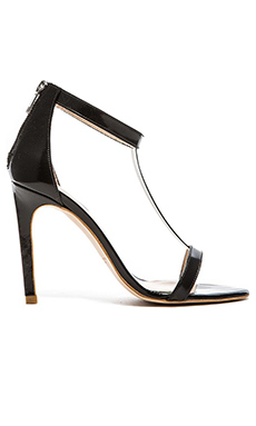The Mode Collective T-Bar Sandal in Black