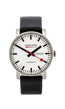 Mondaine Evo Automatic 40mm in Black & White