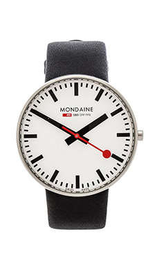Mondaine Giant 42mm in Black & White