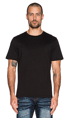Mostly Heard Rarely Seen Stars Squared Tee in Black