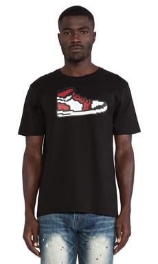 Mostly Heard Rarely Seen Sneaker Logo Tee in Black