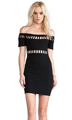 Motel Dame Dress in Black