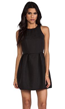 Motel Embossed Girlie Dress in Black