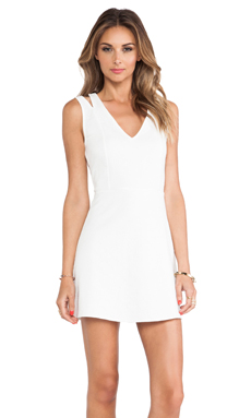Motel Maine Dress in Ivory
