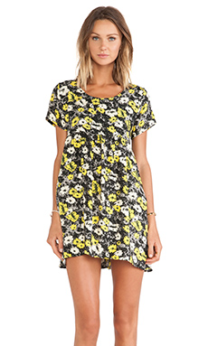 Motel Sky Dress in Aster Yellow